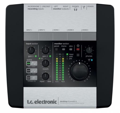 כרטיס קול חיצוני TC ELECTRONIC DESKTOP KONNEKT 6