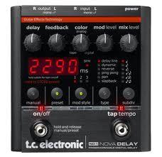 פדל גיטרה TC ELECTRONIC NOVA DELAY