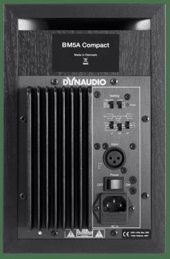מוניטורים אקטיביים לאולפן DYNAUDIO BM5A COMPACT