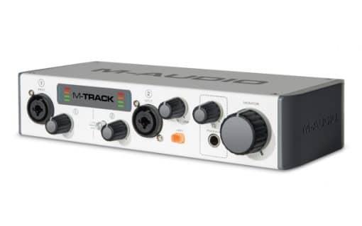 כרטיס קול חיצוני M-AUDIO MTRACK MK II