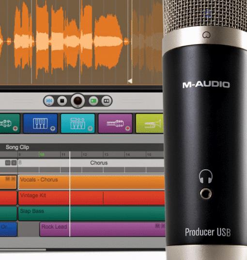מיקרופון M-AUDIO VOCAL STUDIO USB