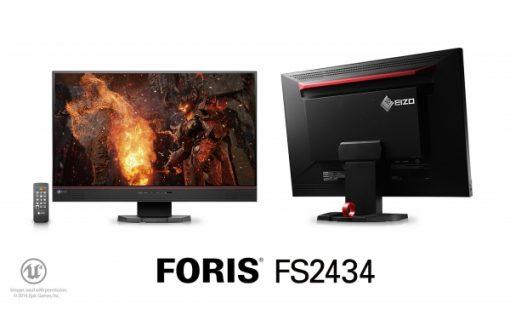 מסך מחשב מקצועי EIZO FORIS FS2434