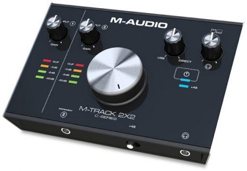 כרטיס קול M-Audio M-TRACK 2X2