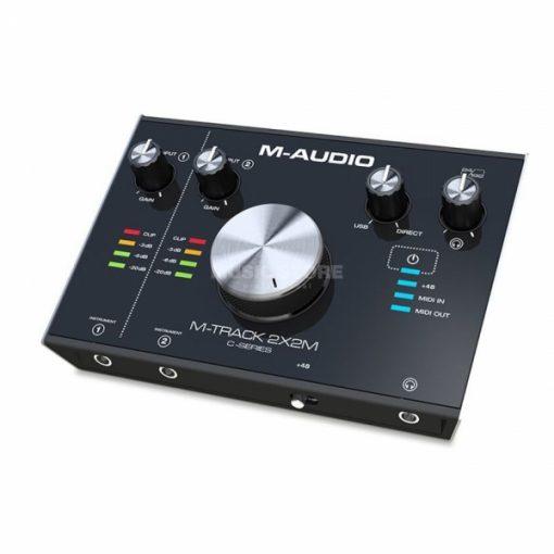 כרטיס קול מקצועי M-Audio M-Track 2X2M