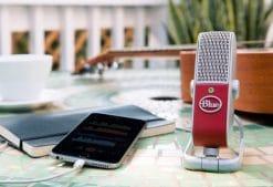 מיקרופון Blue Raspberry USB