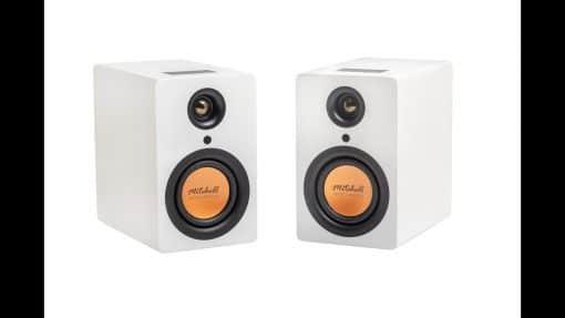 זוג רמקולים בלוטוס Mitchell Acoustics