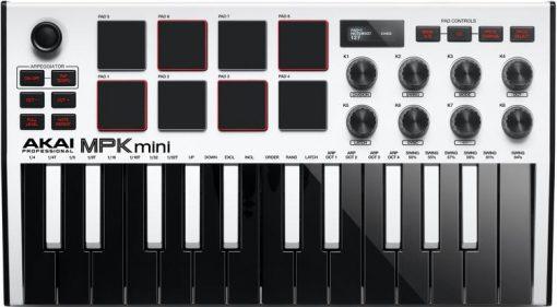 מקלדת שליטה AKAI MPK MINI III